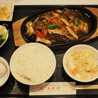 中華焼肉定食(大成閣 (タイセイカク))