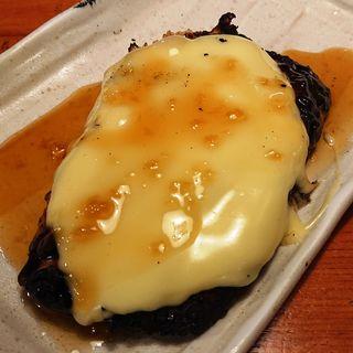 たっぷりチーズの鶏バーグ(じゃんぼ焼鳥 鳥貴族 京急川崎駅前店 )