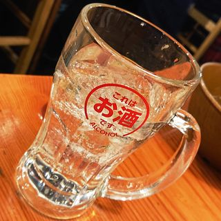 翠ジンソーダ(じゃんぼ焼鳥 鳥貴族 京急川崎駅前店 )