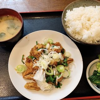 ホルモン炒め定食(いそ食堂 (食事処いそ))