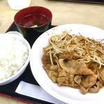豚スタミナ焼き定食