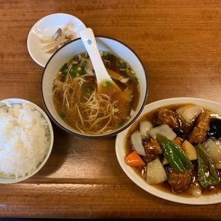 酢豚セット(中華料理 鉄人 )