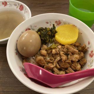 魯肉飯セット(帆帆魯肉飯)