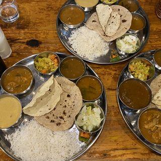 ランチミールス(南インド食堂 Beans on Beans)