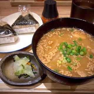 宮城芋煮 おにぎり2個セット(ダテ カフェ オーダー (Date Cafe Order))