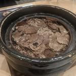 松葉ガニと平茸の炊き込みご飯