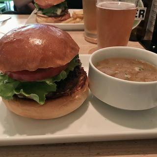 クラフトバーガー(ランチ)(Craft Burger co. 北堀江店)