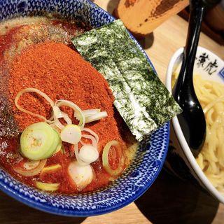 味玉辛辛つけ麺(兼虎 博多デイトス店)