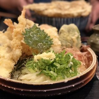 野菜天ぶっかけ(うどん和助 天神店 (ウドンワスケ))