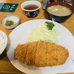 ヒレかつ定食(井泉 本店 (いせん))