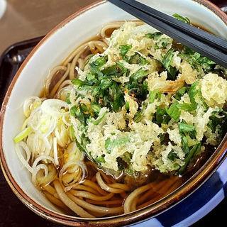 春菊天蕎麦(そば切り うちば)