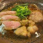 和風鴨油醤油(らーめん 彩哲 ~isato~)