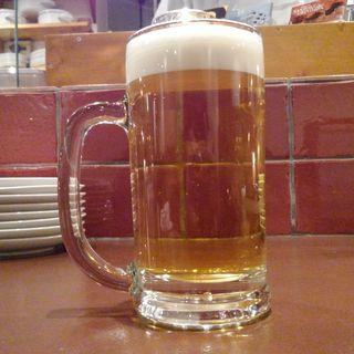 生ビール(ビストロ オオカミ2 Duex)