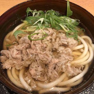 新大阪そば肉入り(浪花そば (なにわそば))