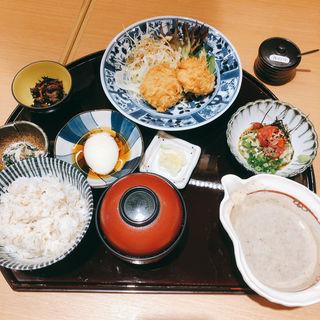 山芋コロッケランチ(とろろ屋)
