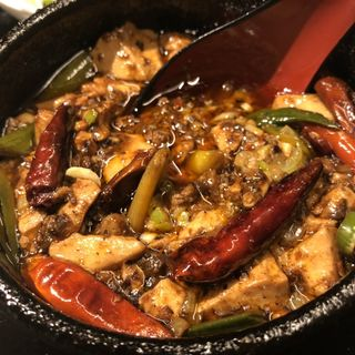 激辛陳麻婆豆腐ランチ(FANFAN)