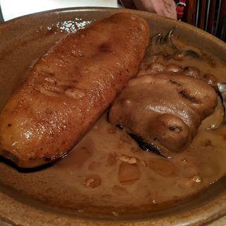 ナマコと熊の手の濃厚ソース煮込み(赤坂璃宮 銀座店 (アカサカリキュウ))