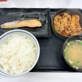 牛鮭定食(吉野家 中目黒駅前店 )