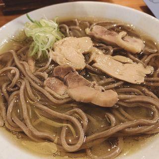 冷たい肉そば(一寸亭 本店 (ちょっとてい))
