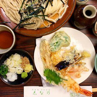合盛り天ぷら(志な乃 (しなの))