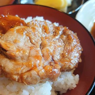 豚生姜焼き定食(つみき )