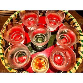 日本酒飲み比べセット(Sake Sumibi)