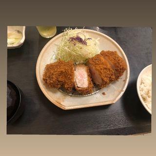 ロースカツ定食(とんかつ勝)