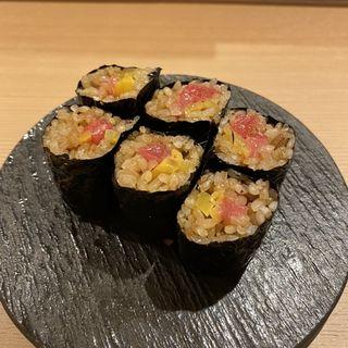 ネギたく巻き(鮨 仙酢 本店)