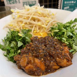 鶏肉拌麺(西北拉麺)