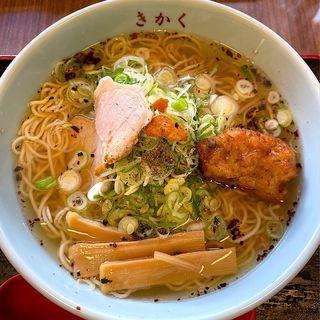 サバだしラーメン(食堂きかく )