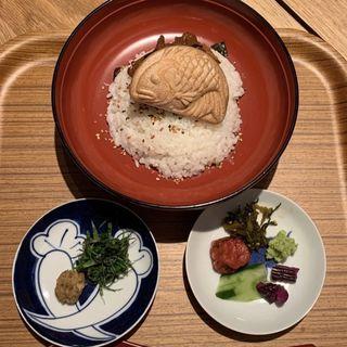 鯛茶漬け(うお田)