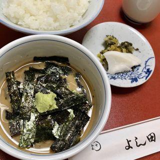 鯛茶漬け(割烹よし田 )