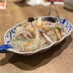 海鮮春雨のサラダ