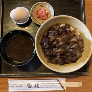 牛丼(豚捨 外宮前店 )