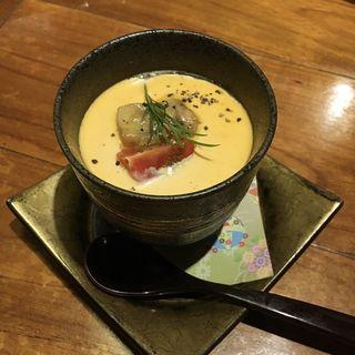 フォアグラ茶碗蒸し(博多メシ 男厨)