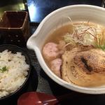 銀笹らーめん(塩) 半鯛飯