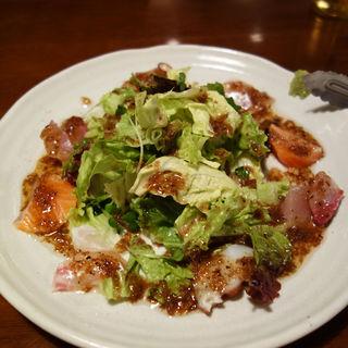 本日の鮮魚サラダ