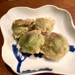 ふきのとうの天ぷら(コノ花まひろ )