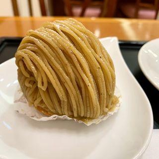 モンブラン(甘味屋幾右衛門 桜井甘精堂 MIDORI長野店 (アマミヤイクエモン))