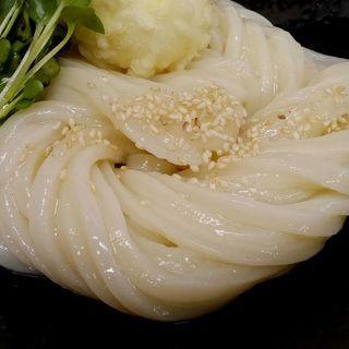 ちく玉天生醤油(手打ちうどん 紅屋)