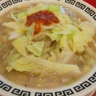 岐阜タンメン、野菜増量、3辛