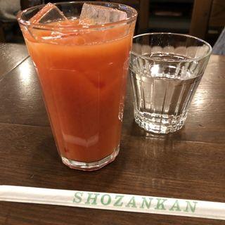 シチリア産ブラッドオレンジジュース(ピッツェリア・パドリーノ・デル・ショーザン (PIZZERIA PADRINO DEL SHOZAN))