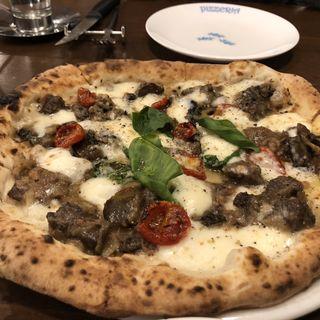 500チンクエチェント pizza (ピッツェリア パドリーノ・デル・ショーザン)