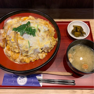 Wかつ丼(しぶき 東口本店)