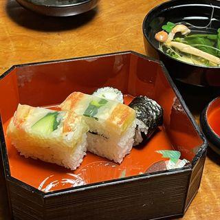かに寿司盛合せ(かに道楽 新宿本店 (かにどうらく))