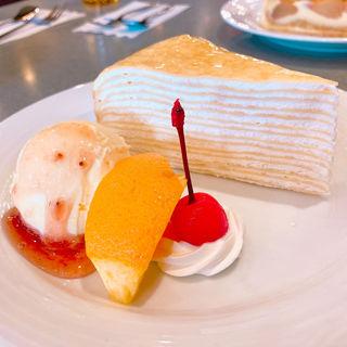 ミルクレープケーキ(ギャラン )