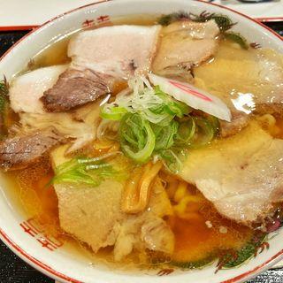 まるやチャーシュー麺(日本橋ふくしま館 ミデッテ (日本橋ふくしま館 MIDETTE))