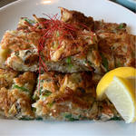 牡蠣チヂミ