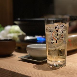 ハイボール(藁焼きとおばんざい まんざら)