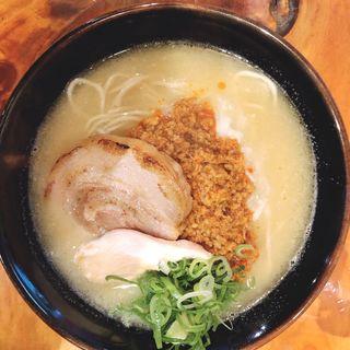 鶏白湯(赤)